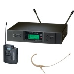 Audio-Technica ATW-3192 Wireless UHF Body-Pack System with Headworn Microphone