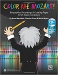 Color Me Mozart! w/cd Reproducible [education] classroom