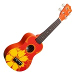 Amahi Orange Flower Soprano Uke