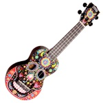 Mahalo Day Of The Dead Soprano Uke