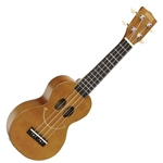 Mahalo U Smile Soprano Uke, Transparent Brown