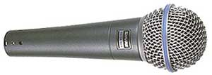 Shure Beta 58A Vocal Microphone - BETA58A