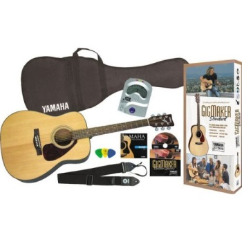 Yamaha Spruce top acoustic guitar package