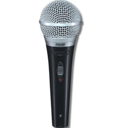 Shure PG48-QTR Microphone with Switch