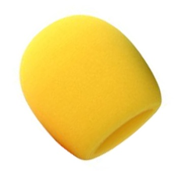 Microphone Windscreen Yellow