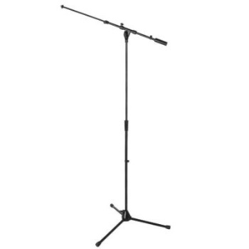 Heavy Duty Tele Boom Mic Stand ON STAGE