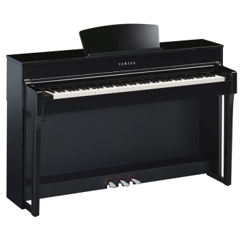 CLP645B Clavinova console digital piano with bench